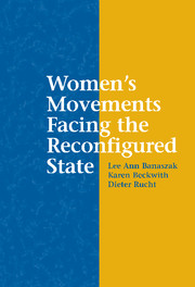 Women's Movements Facing the Reconfigured State