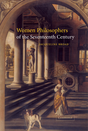 Women Philosophers of the Seventeenth Century