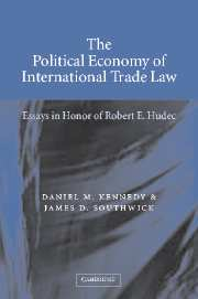 The Political Economy of International Trade Law