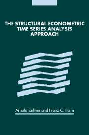 The Structural Econometric Time Series Analysis Approach