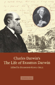 Charles Darwin's 'The Life of Erasmus Darwin'