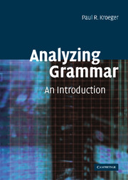 Analyzing Grammar
