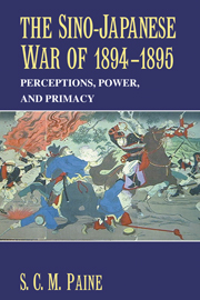 The Sino-Japanese War of 1894–1895