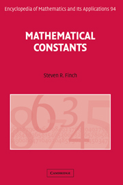 Mathematical Constants