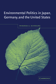 Environmental Politics in Japan, Germany, and the United States
