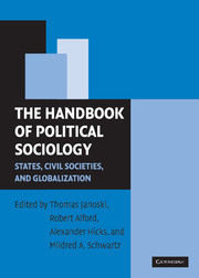 The Handbook of Political Sociology