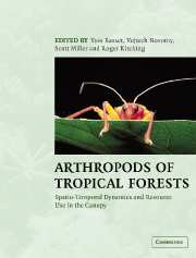 Arthropods of Tropical Forests