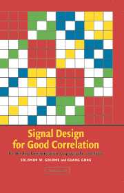 Signal Design for Good Correlation