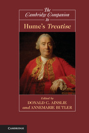 The Cambridge Companion to Hume's <I>Treatise</I>
