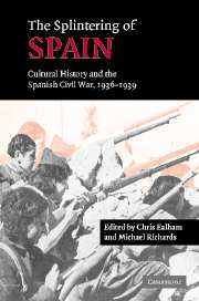 The Splintering of Spain