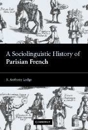 A Sociolinguistic History of Parisian French