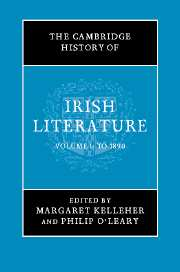 The Cambridge History of Irish Literature