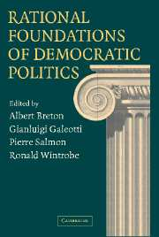 Rational Foundations of Democratic Politics