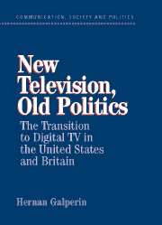 New Television, Old Politics