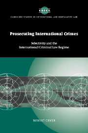Prosecuting International Crimes