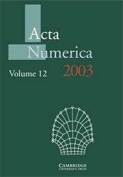 Acta Numerica 2003