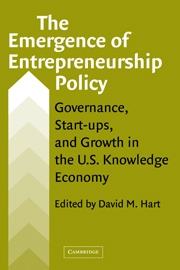 The Emergence of Entrepreneurship Policy