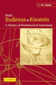From Eudoxus to Einstein