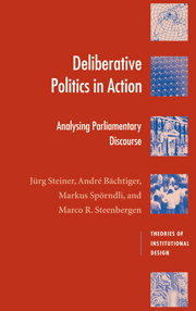 Deliberative Politics in Action