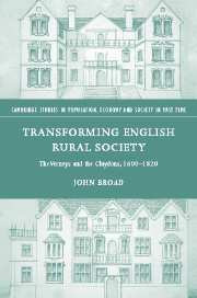 Transforming English Rural Society