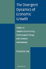 The Divergent Dynamics of Economic Growth