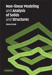 Non-linear Modeling and Analysis of Solids and Structures