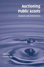 Auctioning Public Assets
