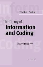 The Theory of Information and Coding