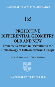 Projective Differential Geometry Old and New