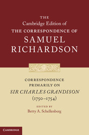 Correspondence Primarily on Sir Charles Grandison(1750–1754)