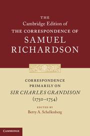 Correspondence Primarily on Sir Charles Grandison(1750–1754)