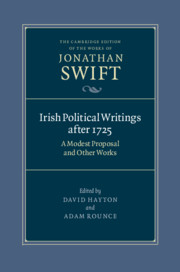 The Cambridge Edition of the Works of Jonathan Swift