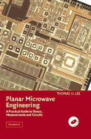Planar microwave engineering practical guide theory measurement and planar microwave engineering fandeluxe Gallery