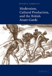 Modernism, Cultural Production, and the British Avant-garde