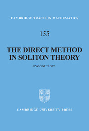The Direct Method in Soliton Theory