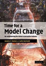 Time for a Model Change