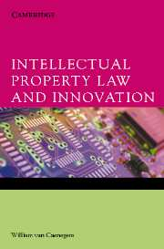 Intellectual Property Law and Innovation