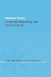 Corporate Reporting and Company Law