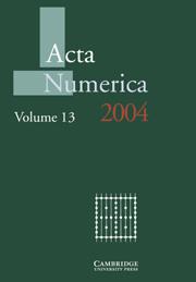 Acta Numerica 2004