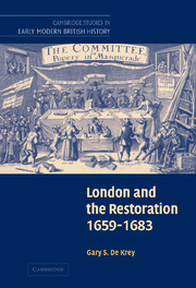 London and the Restoration, 1659–1683