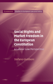 Social Rights and Market Freedom in the European Constitution