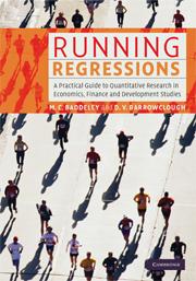 Running Regressions