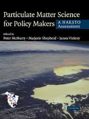Particulate Matter Science for Policy Makers