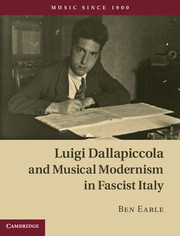Luigi Dallapiccola and Musical Modernism in Fascist Italy