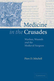 Medicine in the Crusades