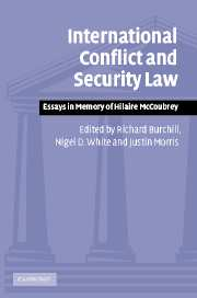 Contemporary Challenges to the Laws of War | Humanitarian Law
