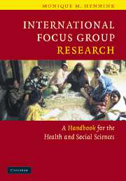 International Focus Group Research