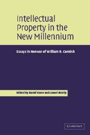 Intellectual Property in the New Millennium