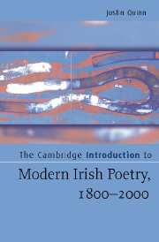 The Cambridge Introduction to Modern Irish Poetry, 1800–2000