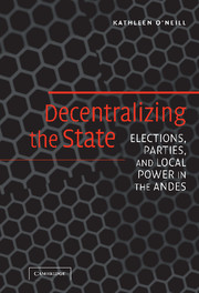 Decentralizing the State